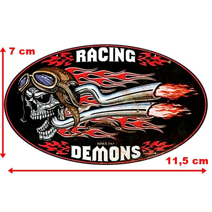 Adesivo Racing Demons - Unidade  - Race Custom