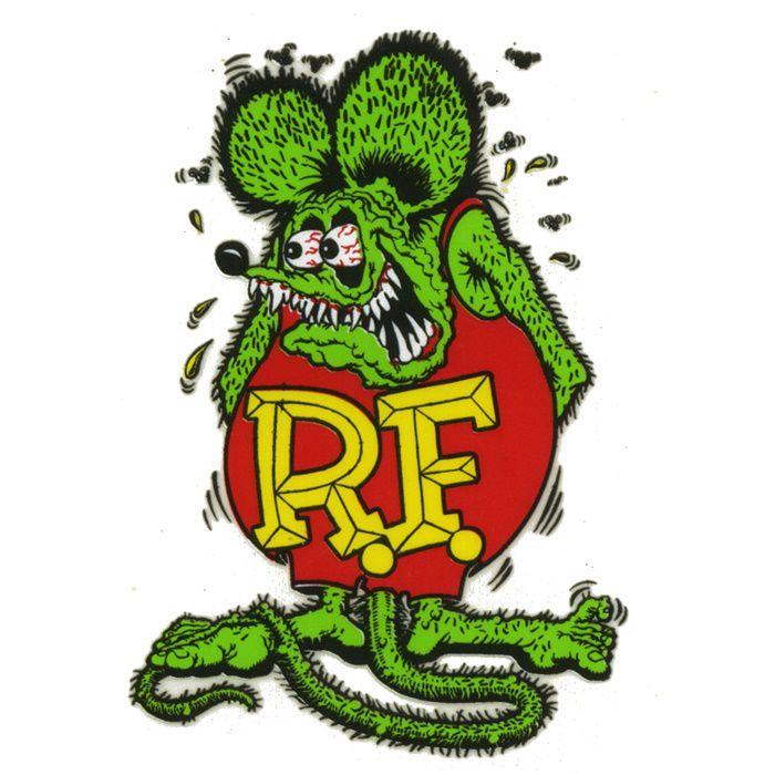 Adesivo Rat Fink - Unidade  - Race Custom