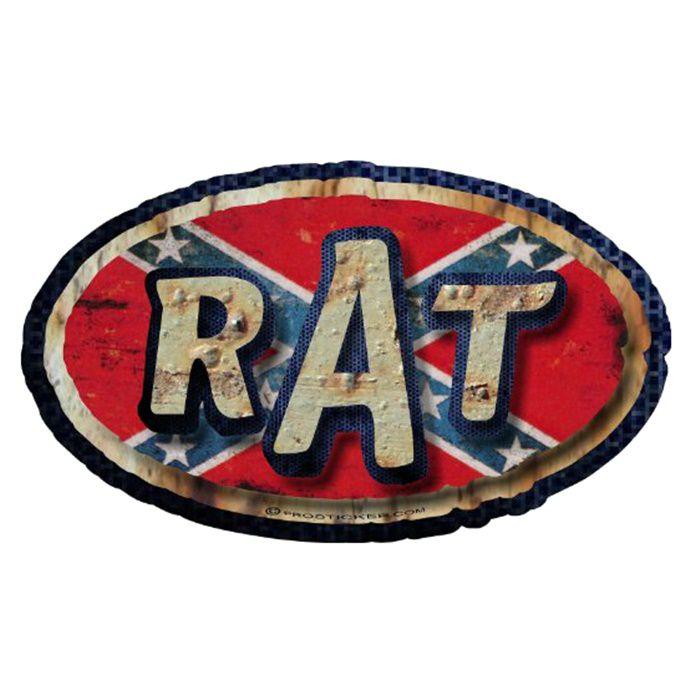 Adesivo Rat Flag - Unidade  - Race Custom