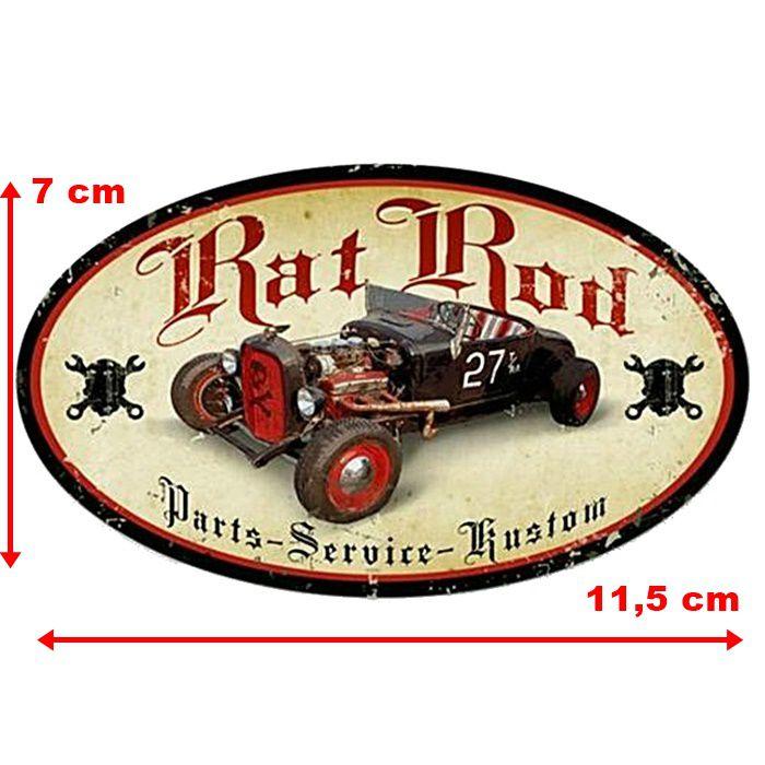Adesivo Rat Rod Parts - Unidade  - Race Custom