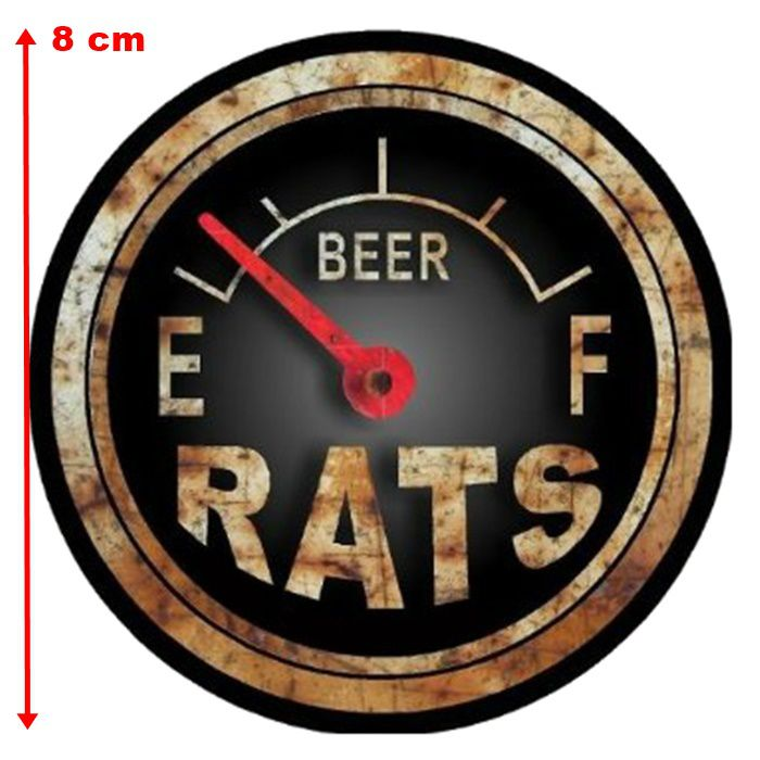 Adesivo Rats Beer - Unidade  - Race Custom