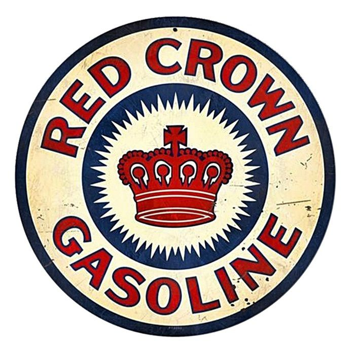 Adesivo Red Crow Gasoline - Unidade  - Race Custom