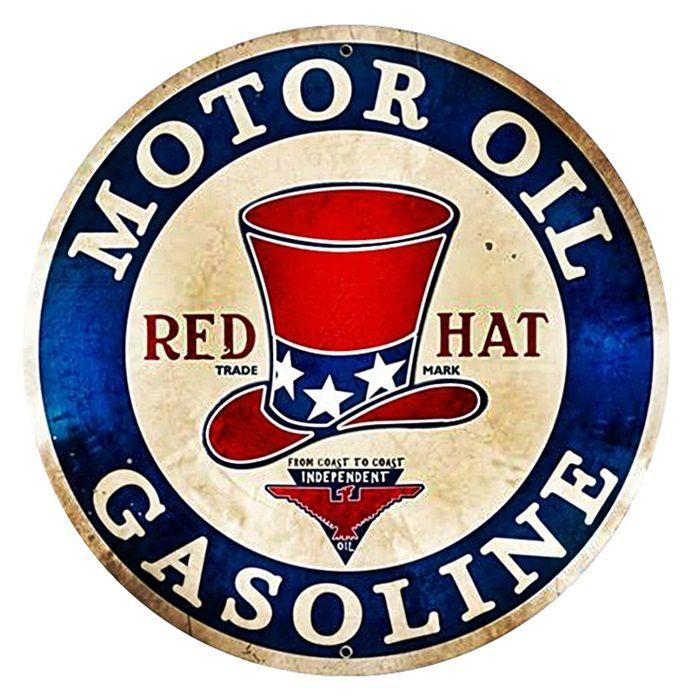 Adesivo Red Hat Gasoline - Unidade  - Race Custom