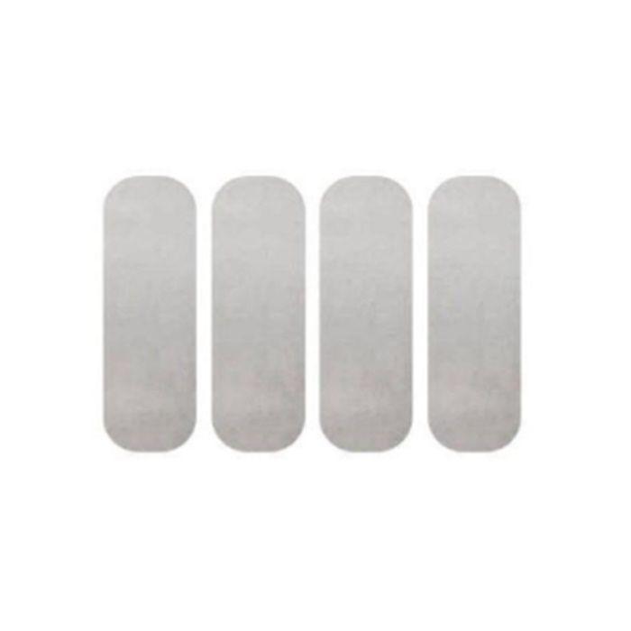 Adesivo Refletivo Para Capacete - Cartela Com 4  - Race Custom