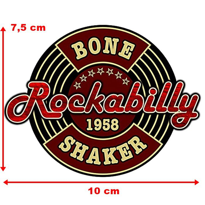 Adesivo Rockabilly 1958 - Unidade  - Race Custom