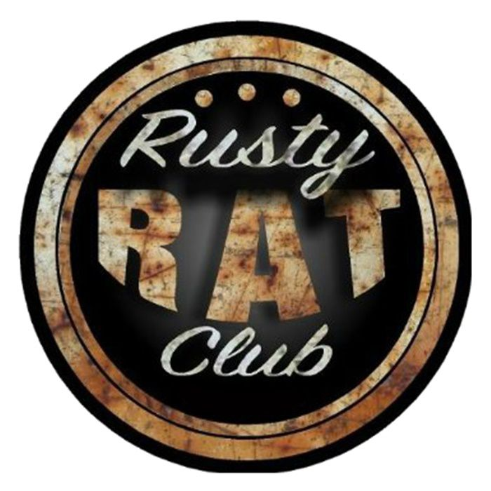 Adesivo Rusty Rat Club - Unidade  - Race Custom