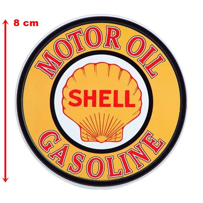 Adesivo Shell Motor Oil - Unidade  - Race Custom