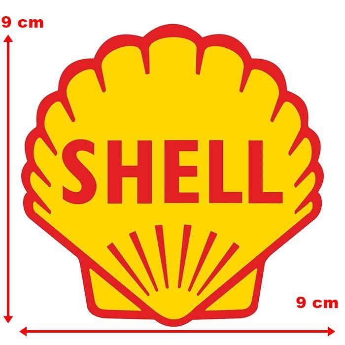 Adesivo Shell Ostra - Unidade  - Race Custom