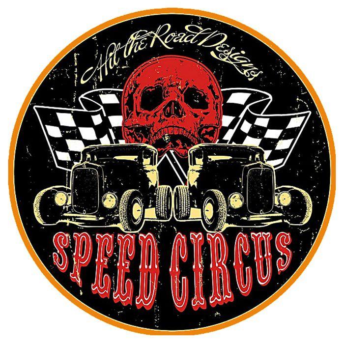 Adesivo Speed Circus - Unidade  - Race Custom