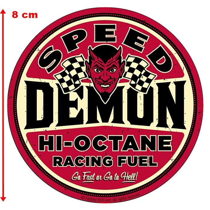 Adesivo Speed Demon Hi-Octane - Unidade  - Race Custom