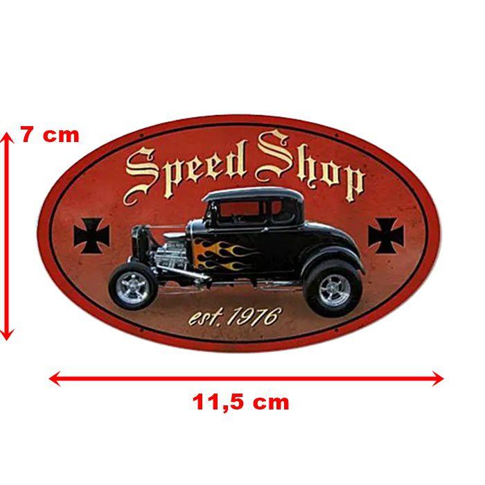 Adesivo Speed Shop - Unidade  - Race Custom