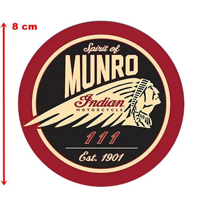 Adesivo Spirit Of Munro - Unidade  - Race Custom