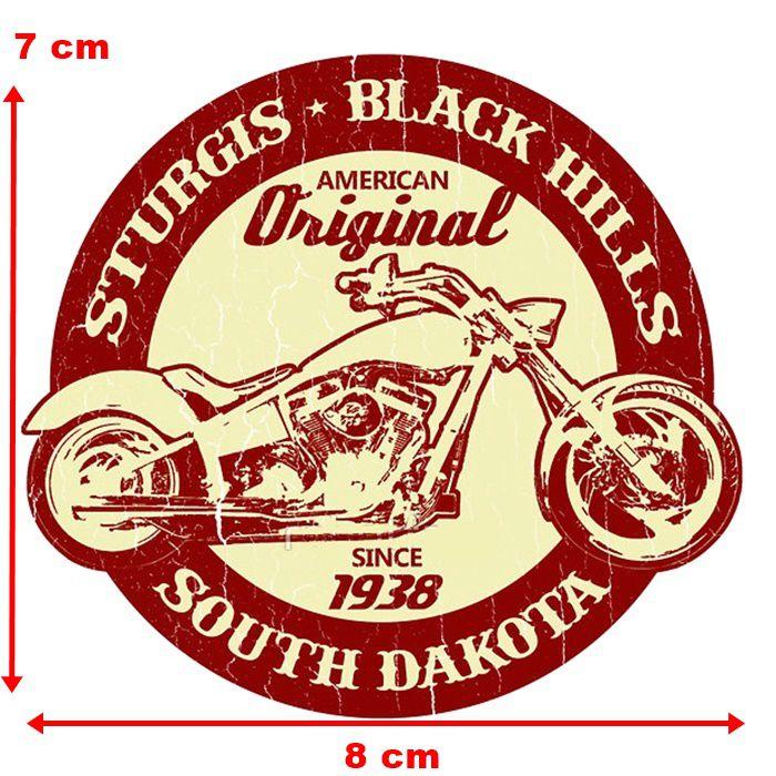 Adesivo Sturgis Black Hills - Unidade  - Race Custom