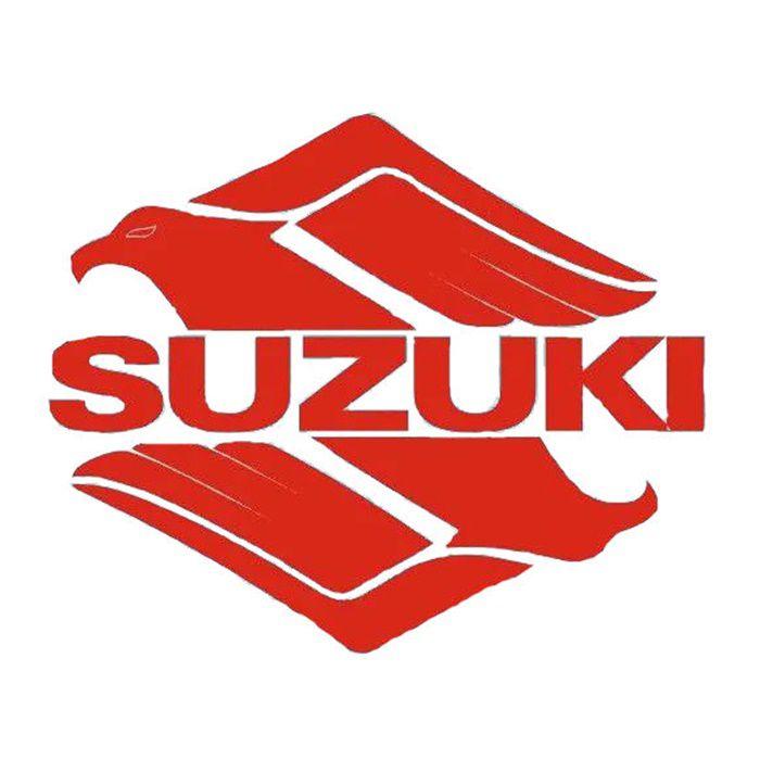 Adesivo Suzuki  Vermelho em Plotter - Unidade  - Race Custom