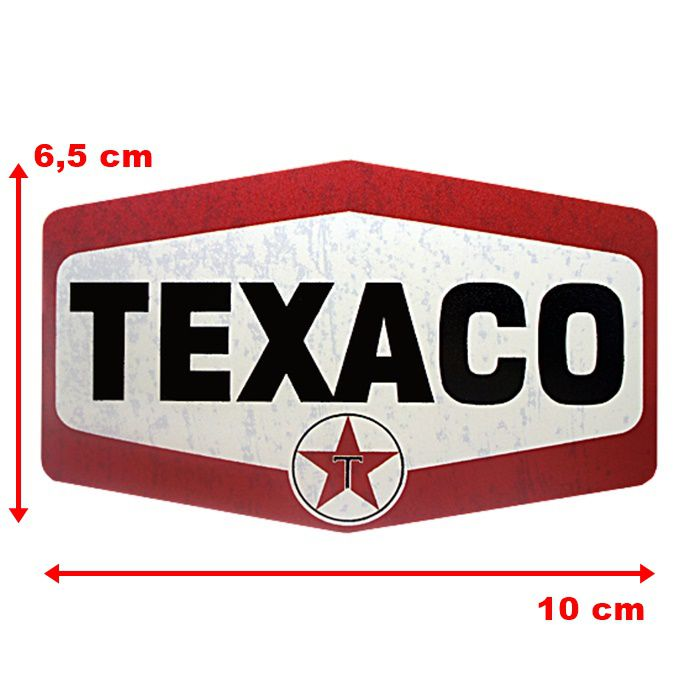 Adesivo Texaco Gasoline - Unidade  - Race Custom