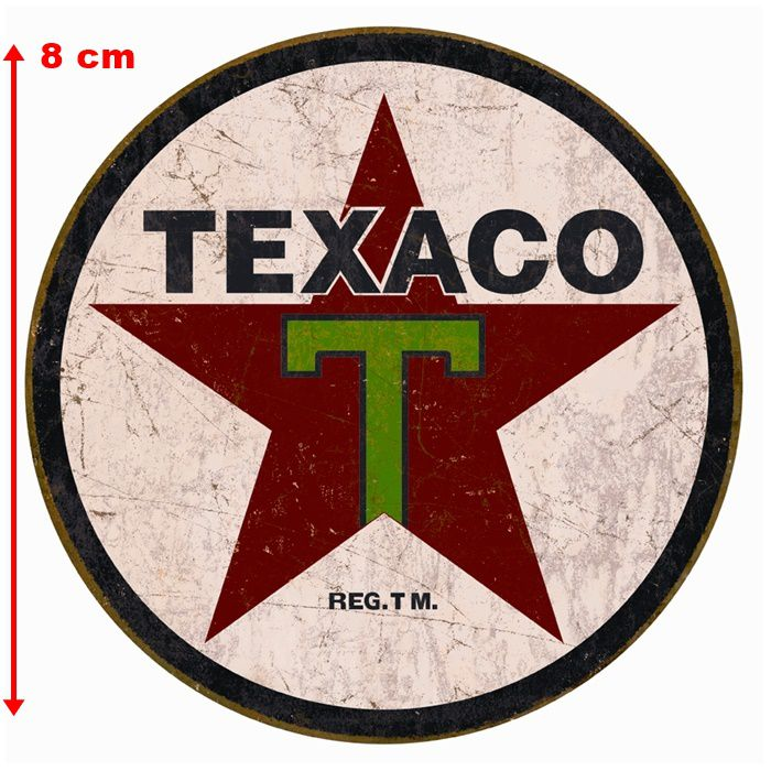 Adesivo Texaco - Unidade  - Race Custom