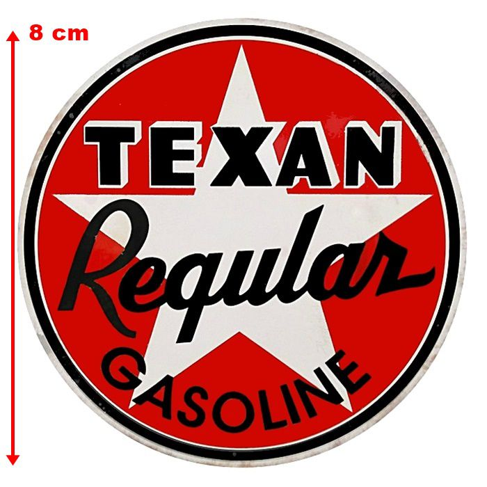 Adesivo Texan Gasoline - Unidade  - Race Custom