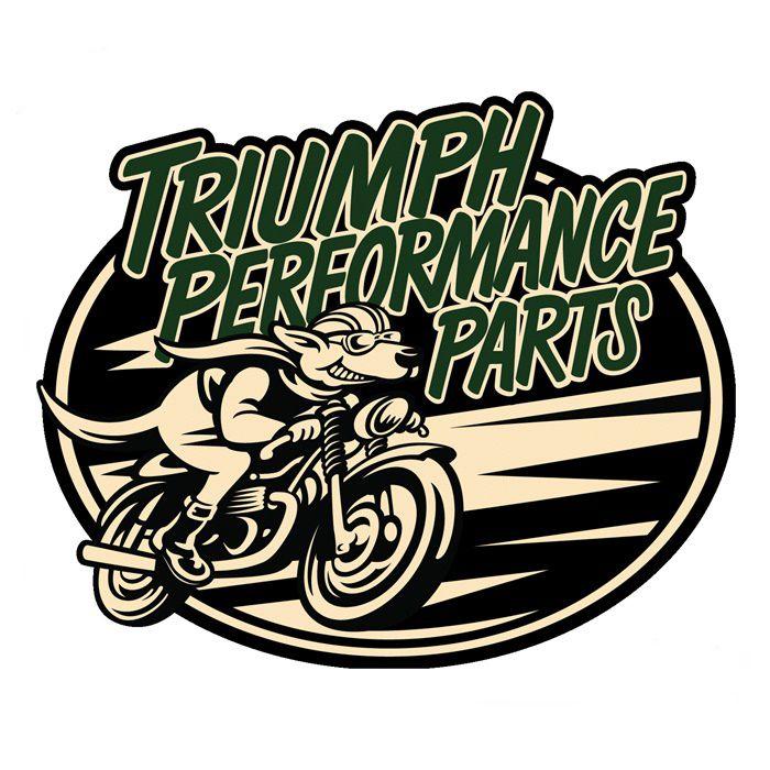 Adesivo Triumph Performance Parts - Unidade  - Race Custom