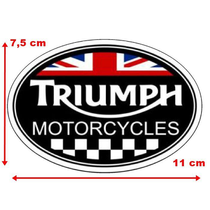 Adesivo Triumph - Unidade  - Race Custom