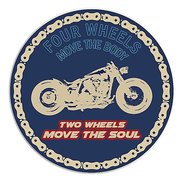 Adesivo Two Wheels  - Unidade  - Race Custom