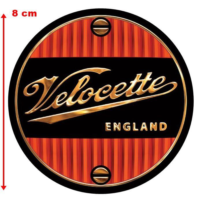 Adesivo Velocette England - Unidade  - Race Custom