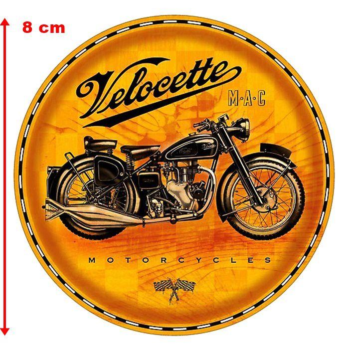 Adesivo Velocette Motorcycles - Unidade  - Race Custom
