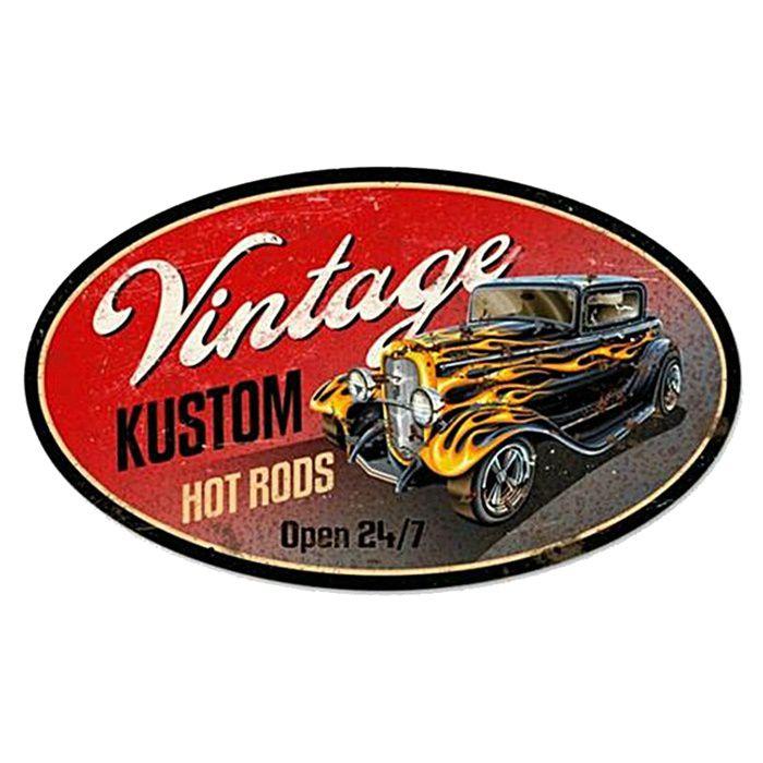 Adesivo Vintage Kustom - Unidade  - Race Custom