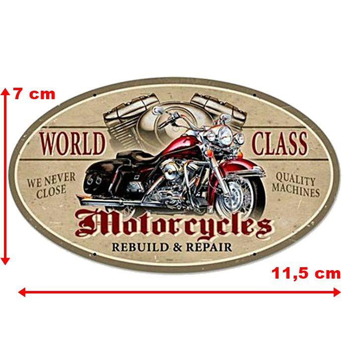 Adesivo World Class Motorcycles - Unidade  - Race Custom