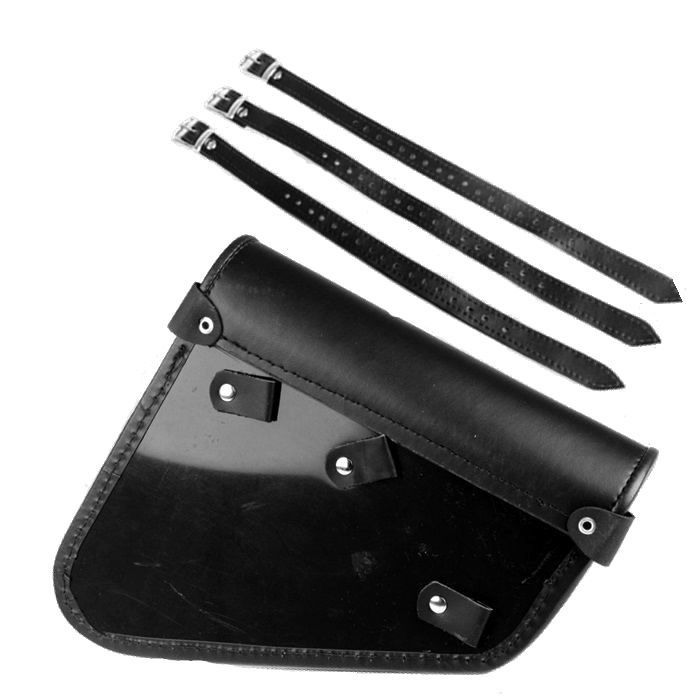 Alforge Lateral Solo Bag Harley Davidson Sportster 883 - Couro Legítimo  - Race Custom