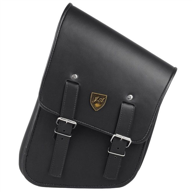 Alforge Lateral Solo Bag Harley Fat Boy - Preto  - Race Custom