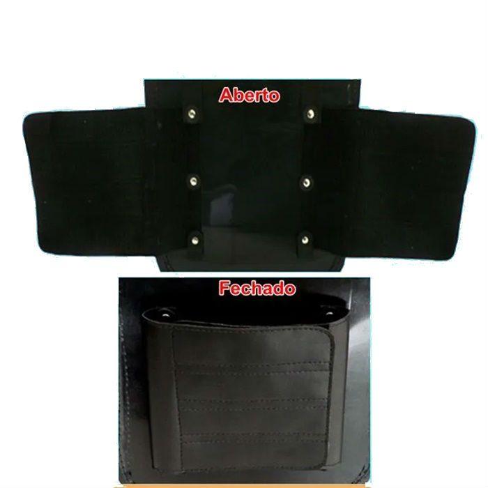 Alforge Traseiro Bolsa 62 Litros Com Fechadura - Couro Legítimo  - Race Custom