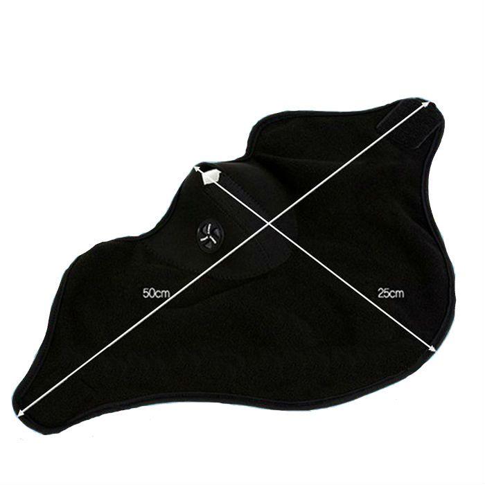 Balaclava de Proteção Facial para o Frio - Preta  - Race Custom