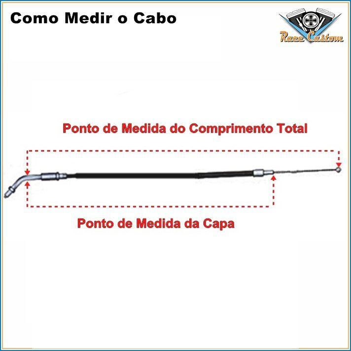 Cabo Harley Davidson Heritage Softail 96-08 - FLST - Acelerador A  - Race Custom