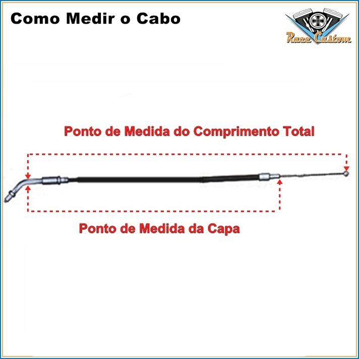 Cabo Harley Davidson Road King FLHRC - Acelerador A  - Race Custom