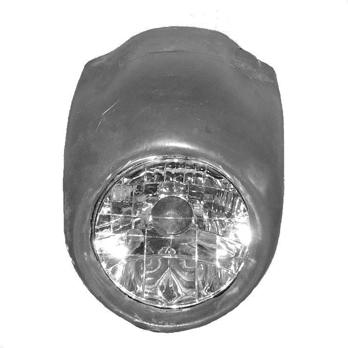 Carenagem de Farol Café Racer com Bloco Óptico  - Race Custom