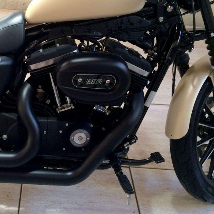 Comando Avançado Harley Davidson Sportster 883 1200 2004 a 2013 sem ABS  - Race Custom