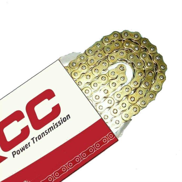 Corrente Transmissão 530 HO X 120 - Oring Retentor - Premium Dourada   - Race Custom