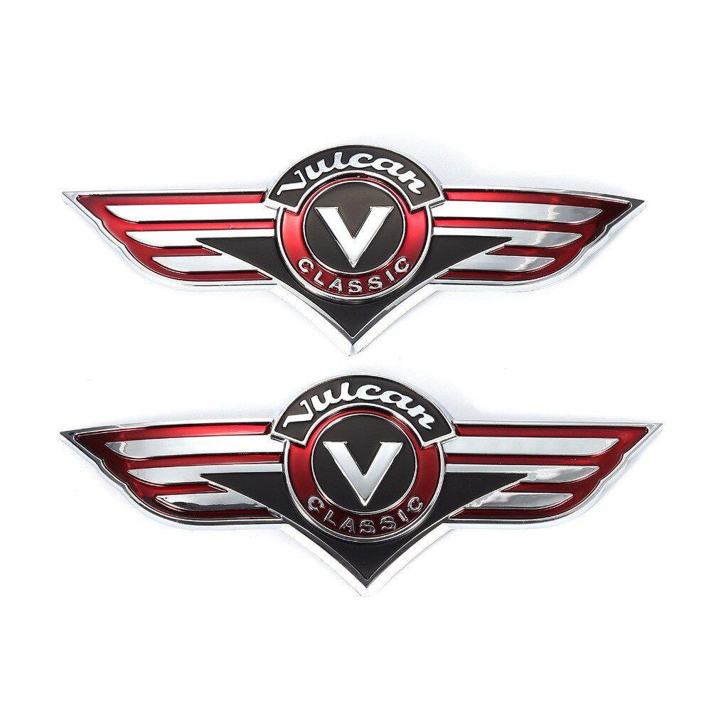 Emblema de Tanque Kawazaki Vulcan - PAR  - Race Custom