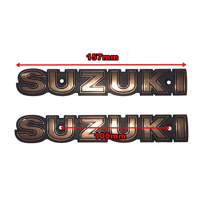 Emblema de Tanque Suzuki  Intruder 250 Bronze - PAR  - Race Custom