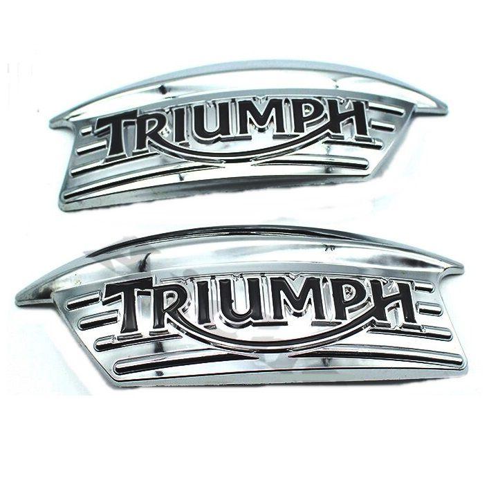 Emblema de Tanque Triumph Bonneville  - Race Custom