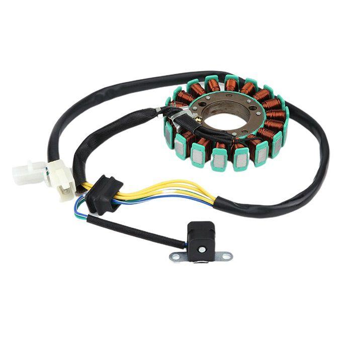 Estator Gerador de Voltagem Intruder GN 250  - Race Custom