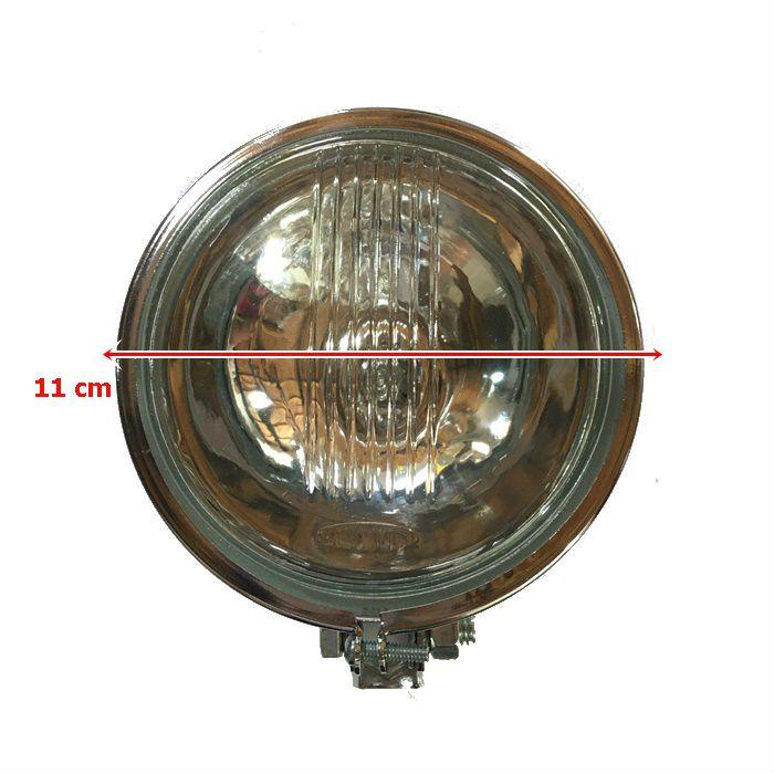 Farolete Bullet em Metal Cromado  - PAR  - Race Custom