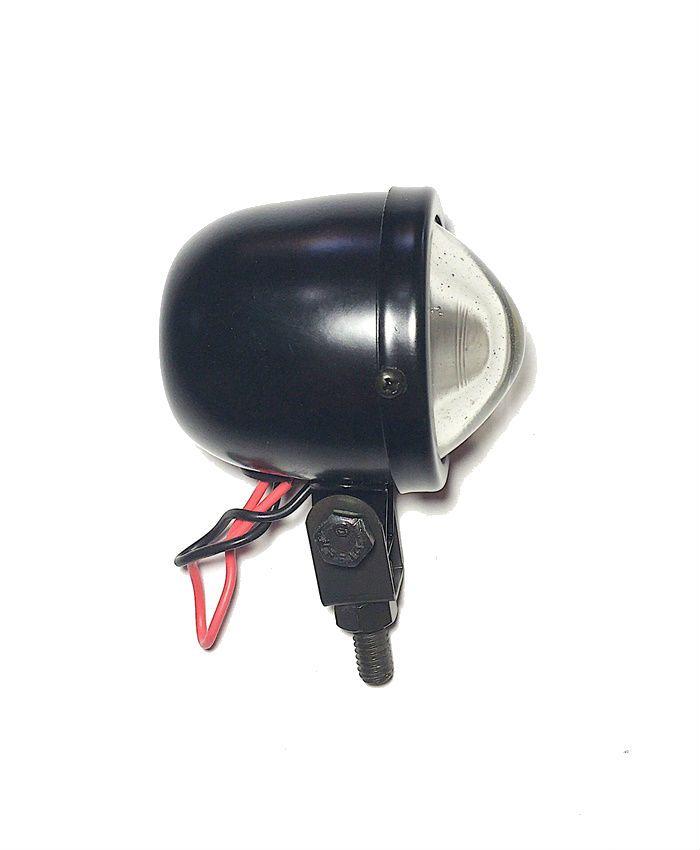 Farolete Mini em Metal Preto - PAR  - Race Custom