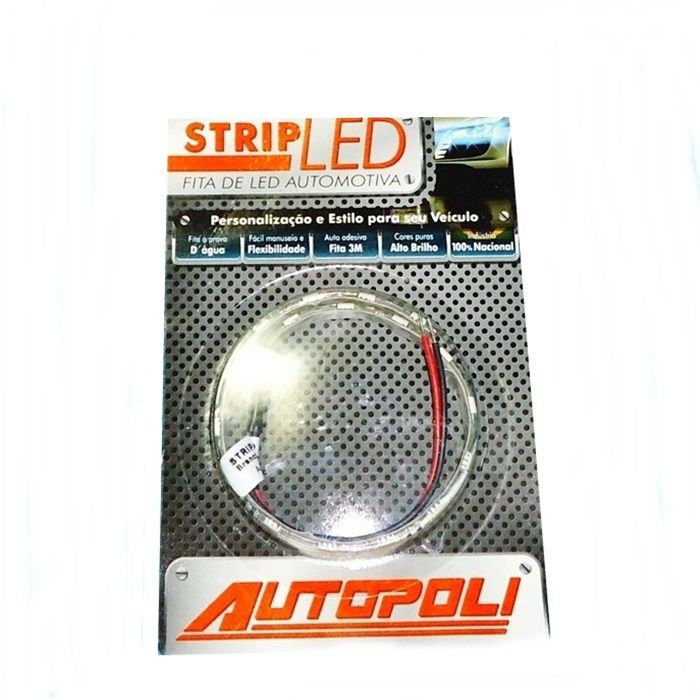 Fita LED Super Branco - 30cm  - Race Custom