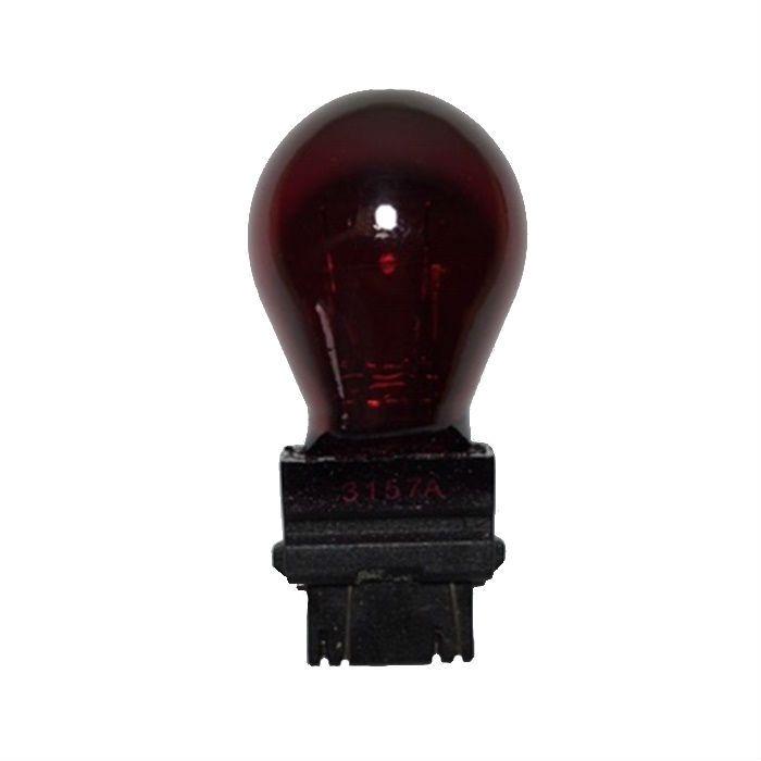 Lâmpada Dois Polos 3157 Vermelha Lanterna HD Sportster e Outras  - Race Custom
