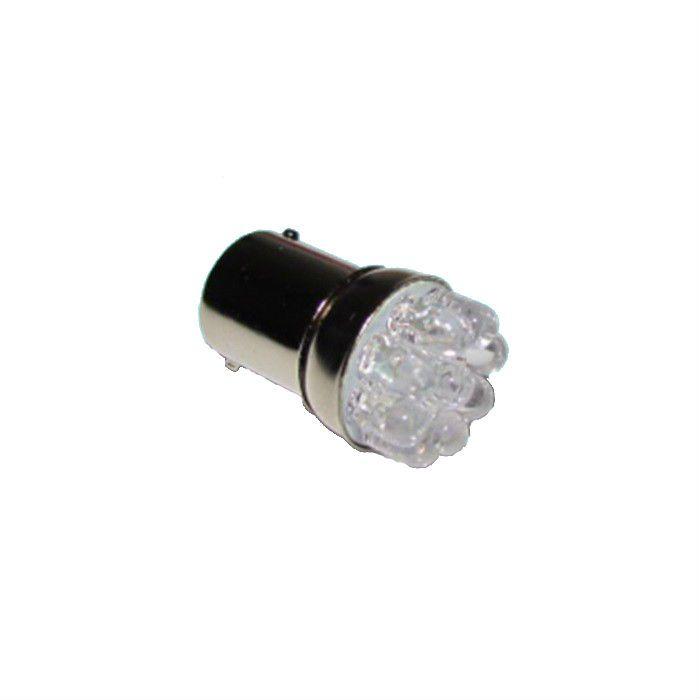 Lâmpada Pisca Pequena LED 67 5w 12V Base Ferro Laranja Ambar  - Race Custom