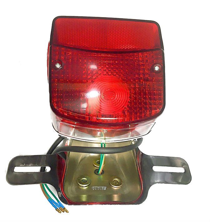 Lanterna Traseira Intruder 125 e 250  - Race Custom