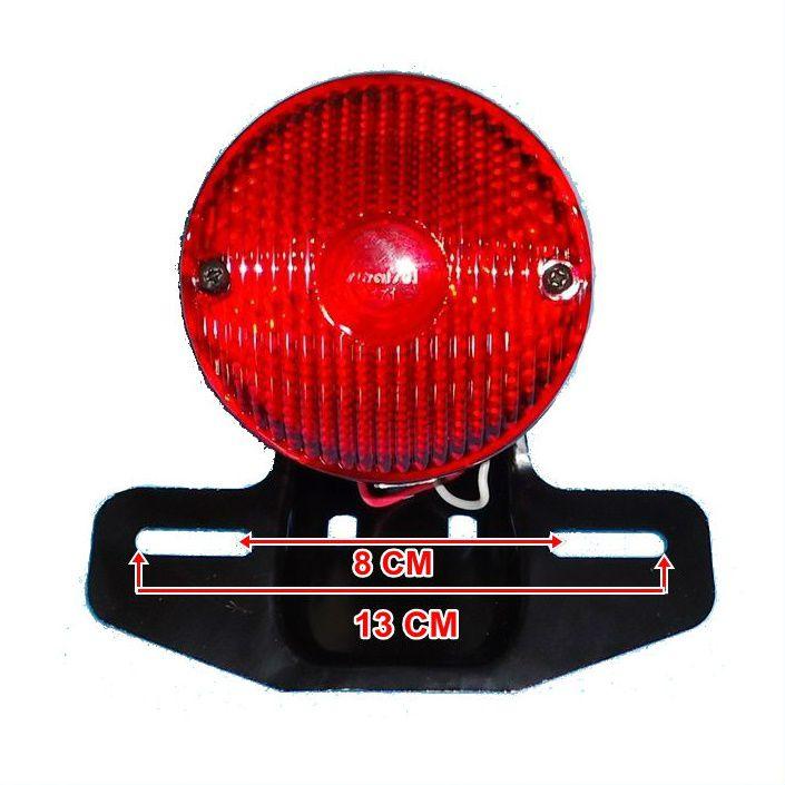 Lanterna Traseira Para Customizações Com Suporte de Placa  - Race Custom