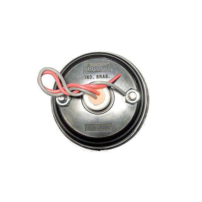 Lanterna Traseira Para Customizações Lente Cristal e Lâmpada Vermelha  - Race Custom