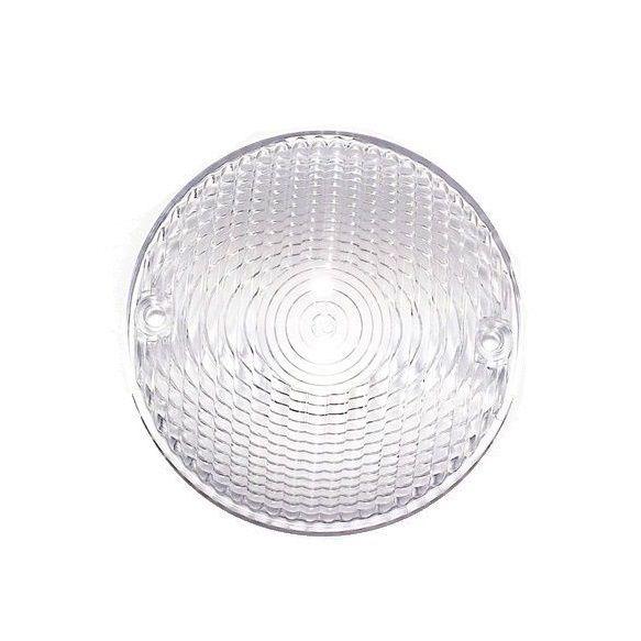 Lente Redonda Lanterna Traseira Customizações - Cristal  - Race Custom